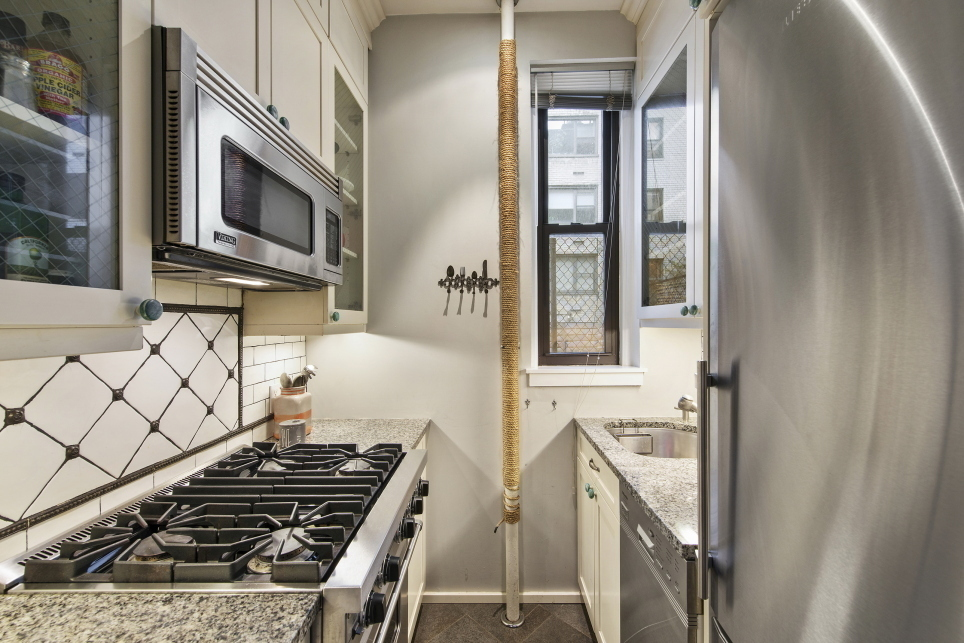 173 East 74th Street, kitchen, co-op