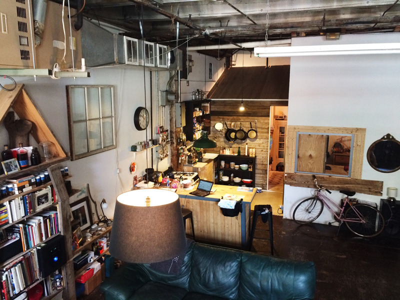 230 Franklin Street, Greenpoint, Loft, Loft Rental, Brooklyn Rental, Quirky Homes, Interiors, Cool Listings, Hipster Hoarders