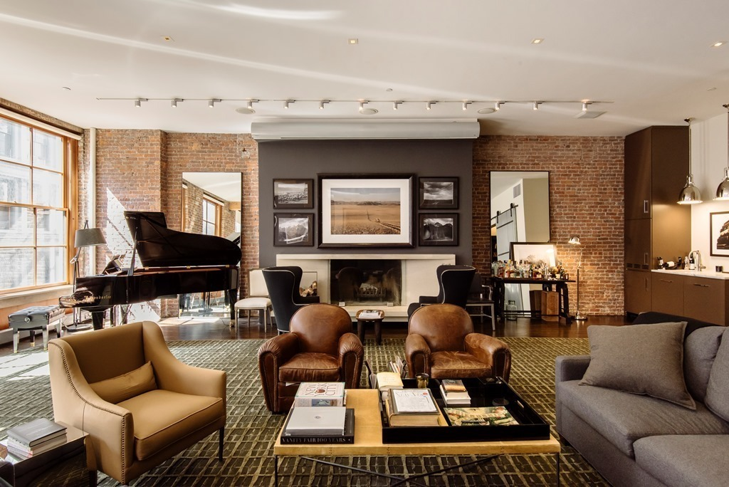 Facebook Co founder Lists His Elegant Bespoke Soho Loft
