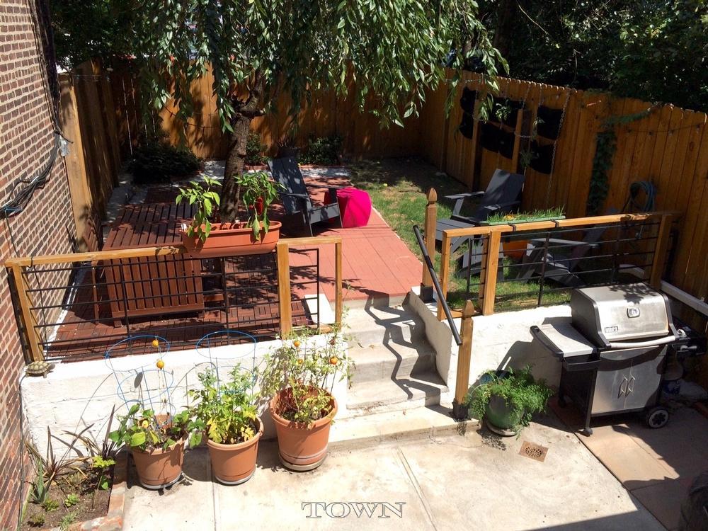 379 State Street, garden, parlor floor, rental