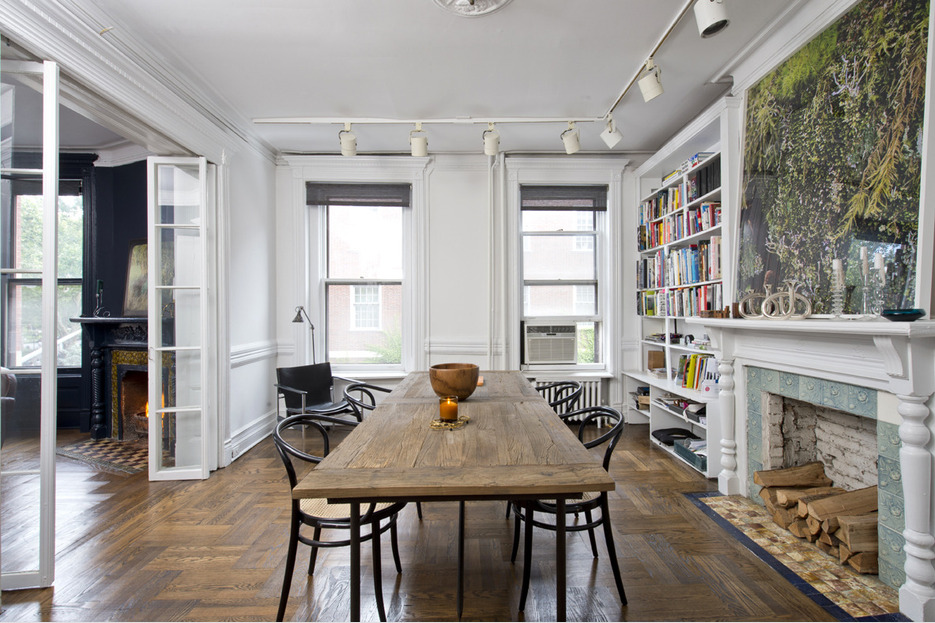 39 Washington Square South, dining room, co-op, Greenwich Village