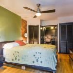 429 Hancock Street, bedroom, bed stuy, brownstone