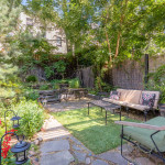 429 Hancock Street, backyard, garden, bed stuy, brownstone