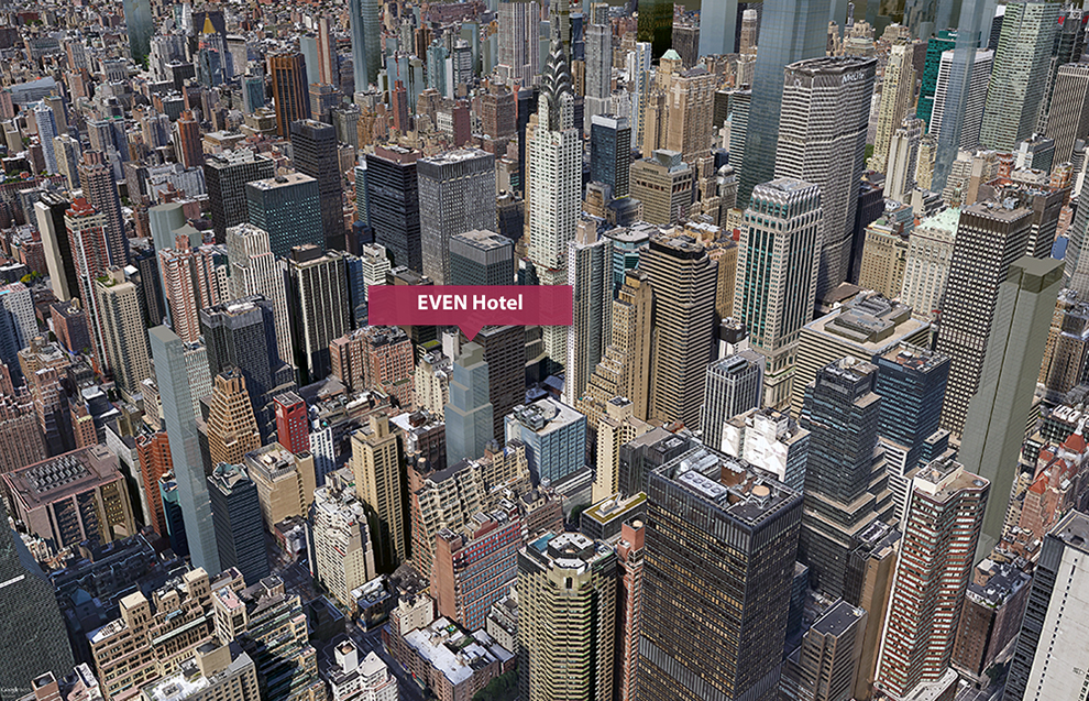 Even Hotel, Midtown East, Grand Central, NYC Hotels, Midtown luxury, Poon Architects