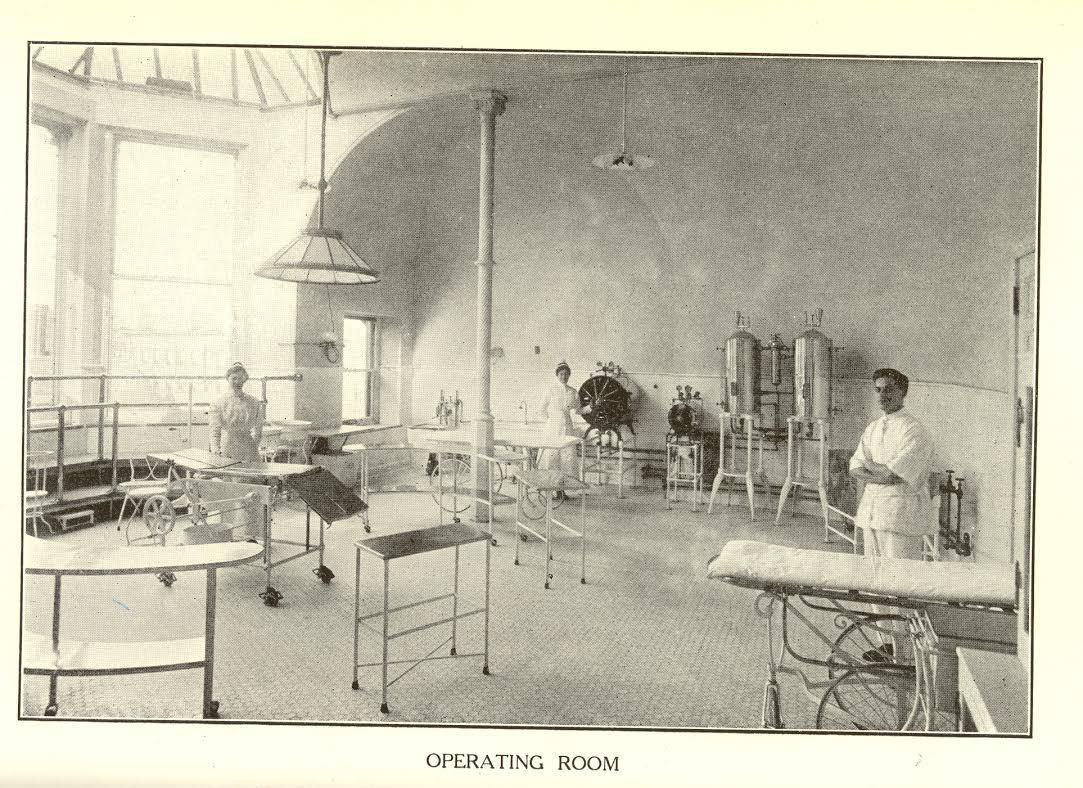 455 Central Park West, operating room, historic, New York Cancer Hospital