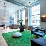 56 Crosby Street, fireplace, sitting room, SoHo loft