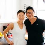 Carlos Alimurung and Ruby Chow