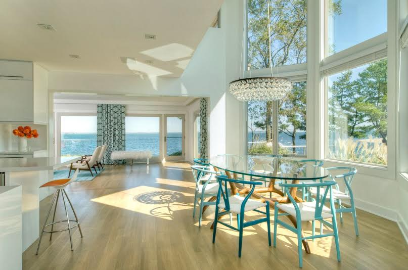 DHD Interiors Hamptons House Dining Room
