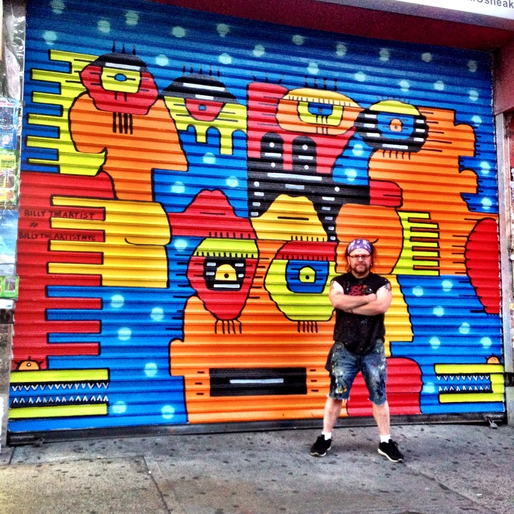 Michele Olivieri, 88 Delancey Street  Artwork, Billy The Artist