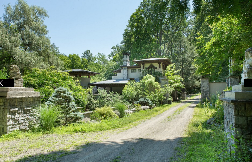 the mission house, upstate new york, greenery