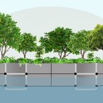 Mary Mattingly, shipping container construction, Swale, floating park, floating garden, food forest,