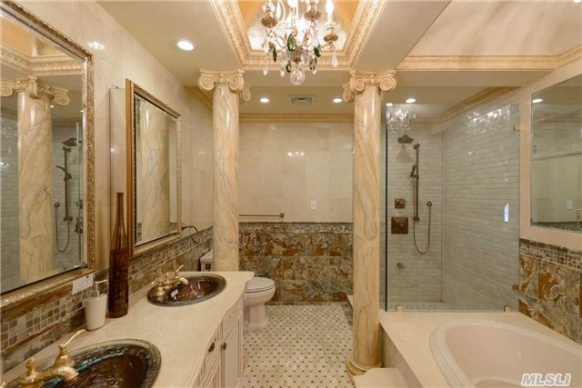A price cut for a gated mansion in jamaica estates queens for Bathroom designs jamaica