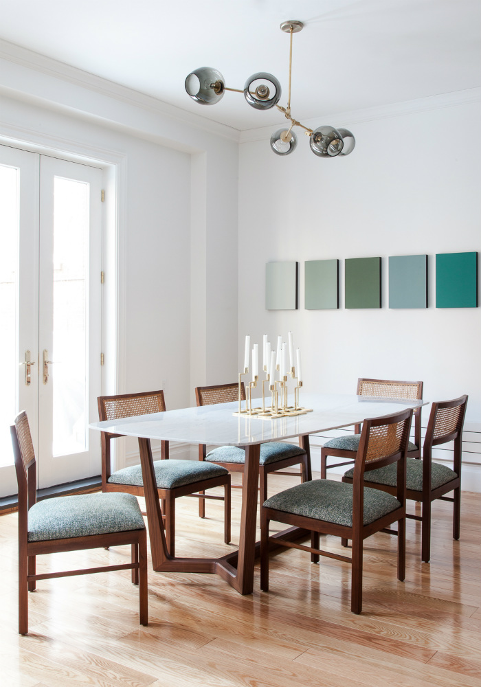 dining room, The New Design Project, Chelsea