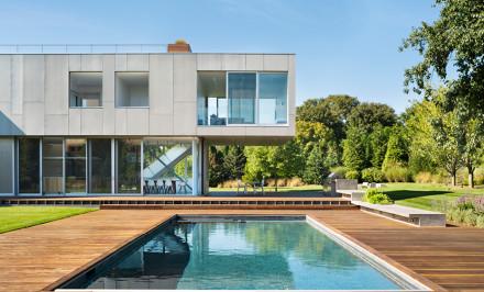 Amagansett, Long Island, Hamptons, Levenbetts, modern design, modern architecture, stacked architecture, long island modernism, long island architecture