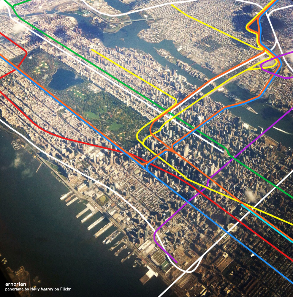 New York Top Tourist Attractions Map 02 New York City Subway Metro – Best Tourist Attractions Map In Nyc