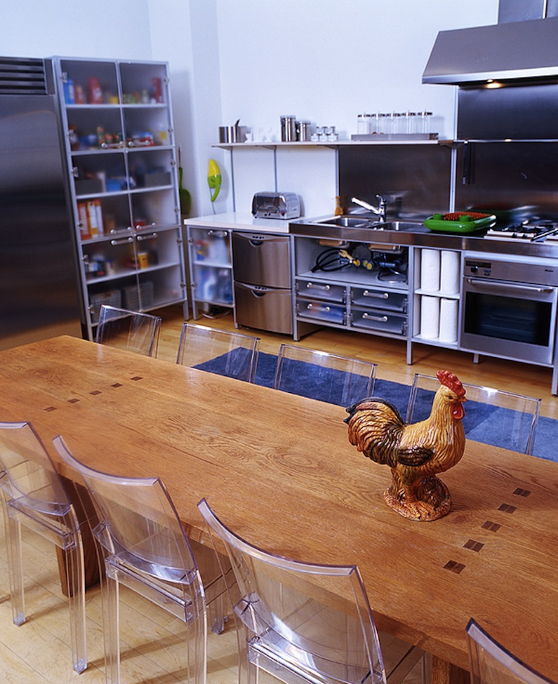 SoHo loft, 56 Crosby Street, kitchen