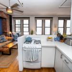 10 Leonard Street, kitchen, loft, tribeca
