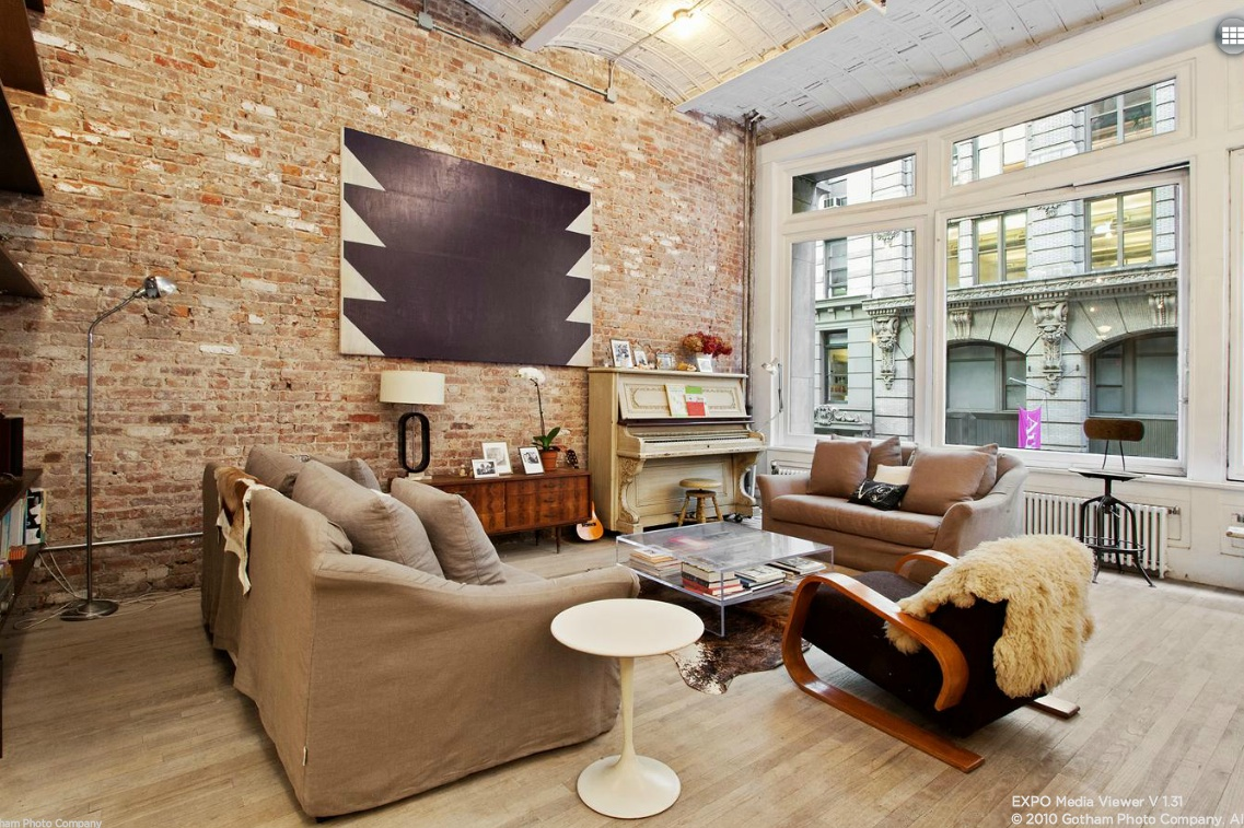 A flatiron loft that 39 s rocking exposed brick asks for 14 wall street 20th floor new york