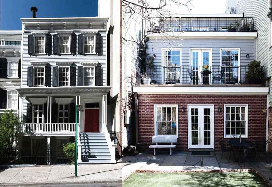 Miraculously unscathed by time this historic wooden ues for Upper east side townhouses