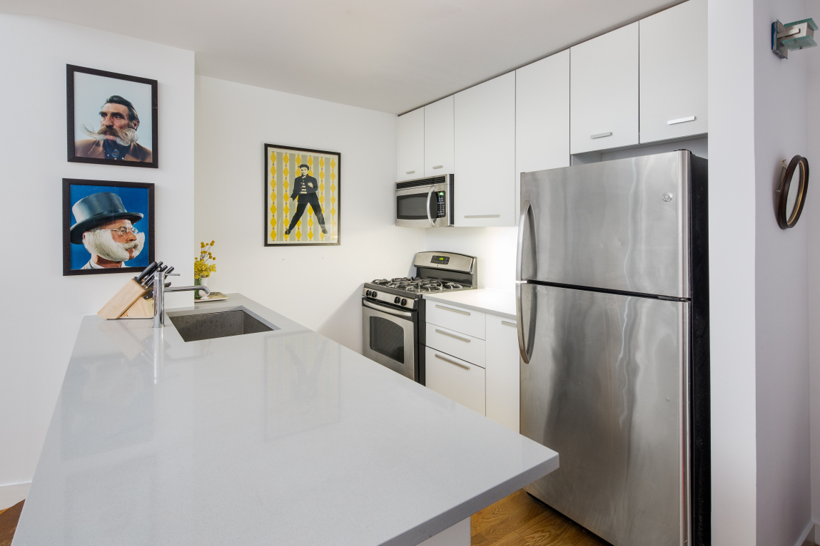 122 West Street, kitchen, pencil factory, greenpoint
