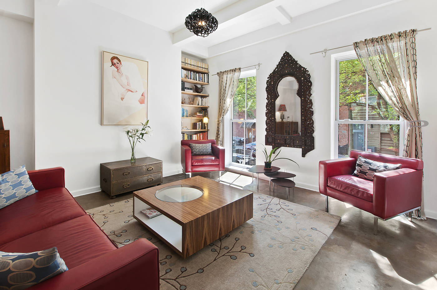 125 Butler Street, Cool Listing, Townhouse, Brooklyn Townhouse for Sale, Boerum Hill, NYC Real Estate, Multi-family House, Renovated Townhouse, Interiors, Brooklyn Backyard