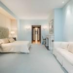 158 Mercer Street, loft, soho, master bedroom