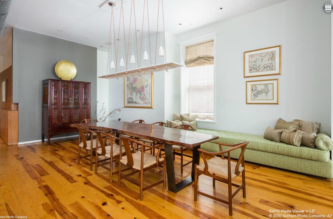 158 mercer street, dining room