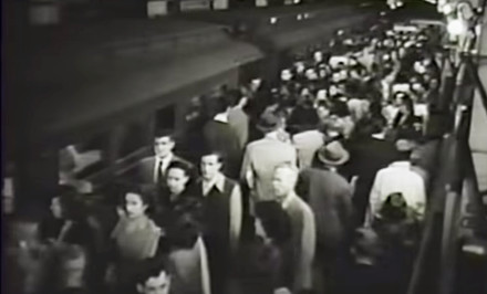 1940s subway, 1940s NYC, subway history, New York Transit Museum archives