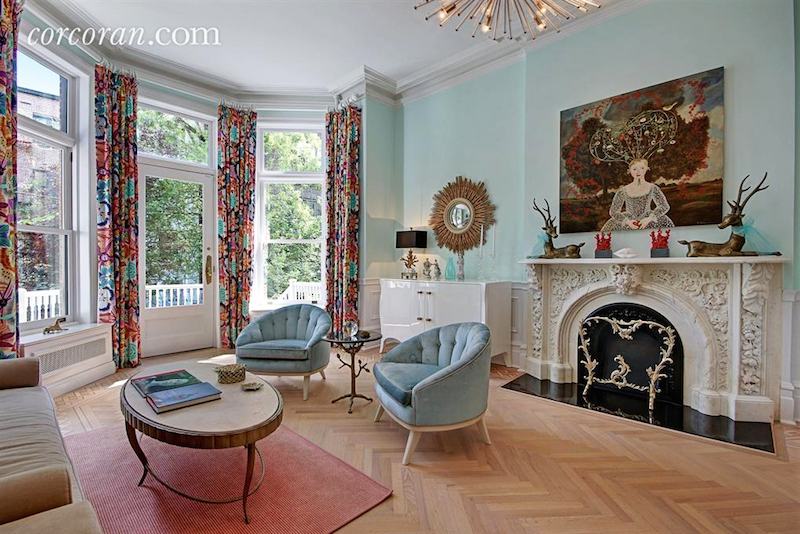 Five Story Brooklyn Townhouse Makes The Best Dressed List