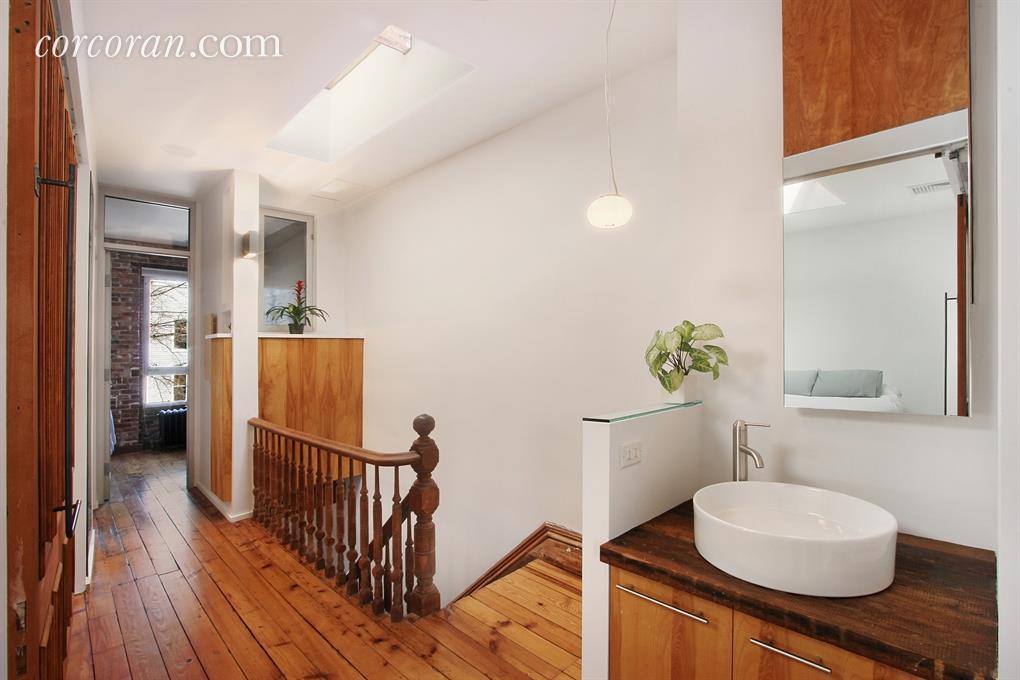 362A 14th Street, hallway, bathroom sink