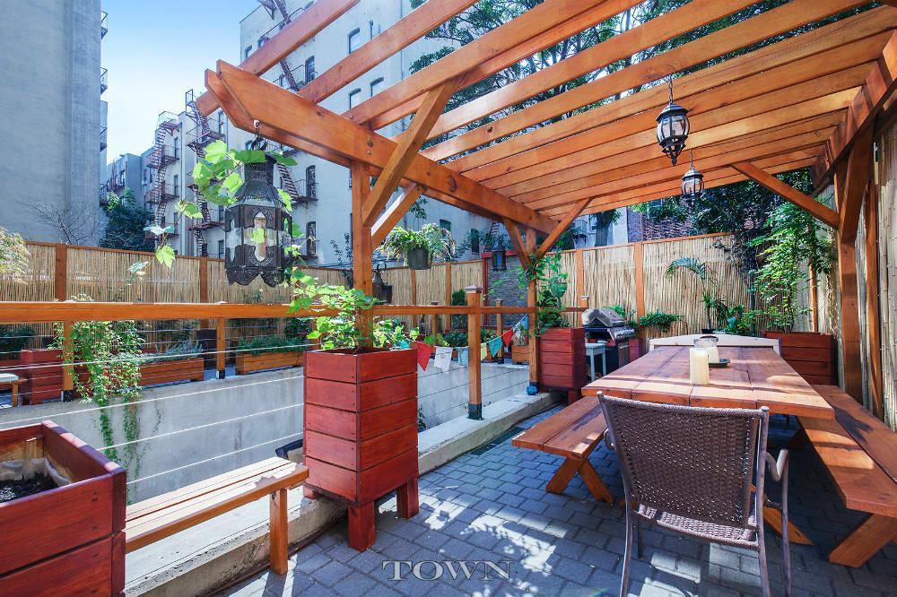440 East 117th Street, condo, backyard, terrace