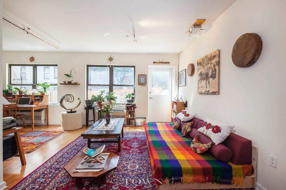 440 East 117th Street, living room, condo