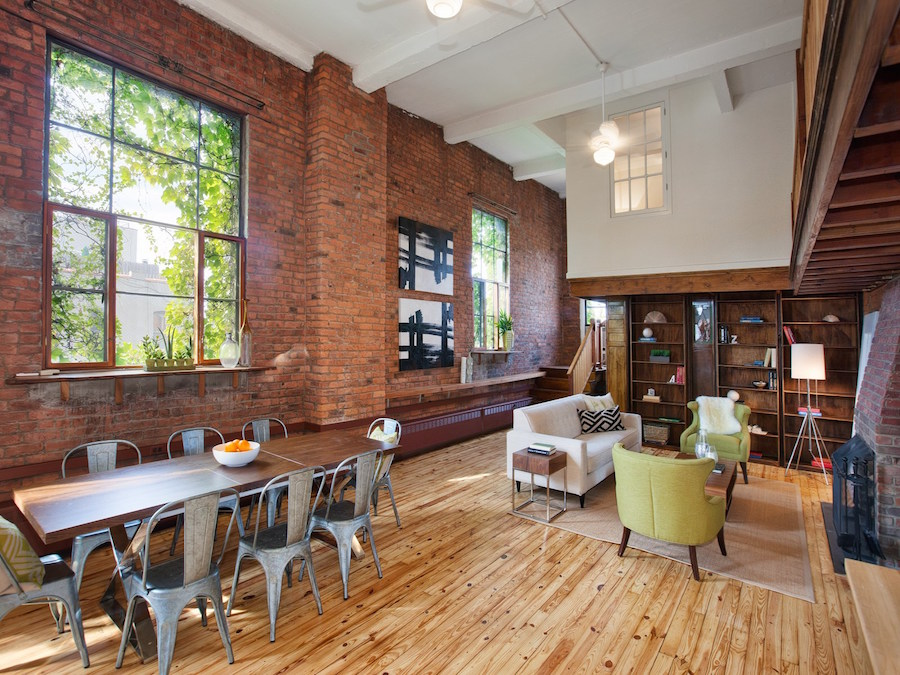 Find your favorite spaces in this flexible south slope for Lofts in nyc for sale