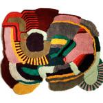 colorful rugs, graffiti rugs, JONATHAN JOSEFSSON
