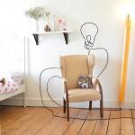 HB Lamp, pencil lamp, george and michael design,