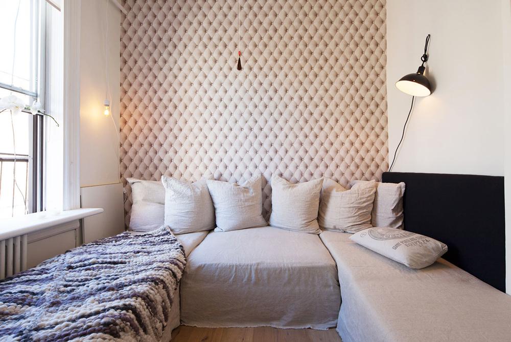 use design to create zones, design studio apartment,