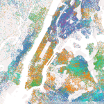 Mapping Immigrant America, Kyle Walker, immigration map, NYC population map