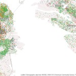 Mapping Immigrant America, Kyle Walker, immigration map, San Francisco population map