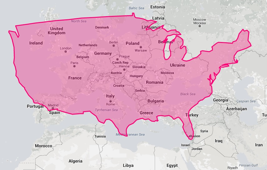 39 True Size Map 39 Will Change Everything You Think About World Geograph