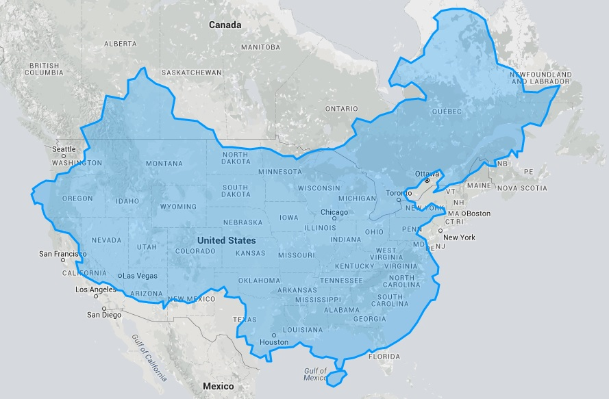True Size Map Will Change Everything You Think About