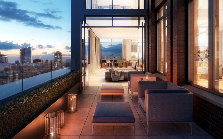 Village Green West, Alfa Development, 245 West 14th Street, KBA Architect, Chelsea, Meatpacking
