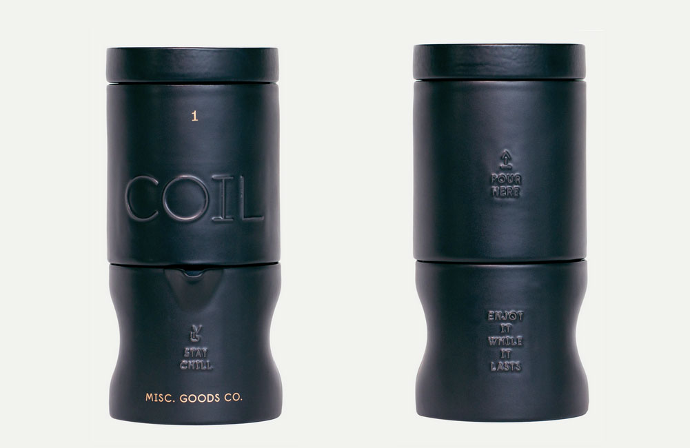 coil, coffee chiller, iced coffee machine