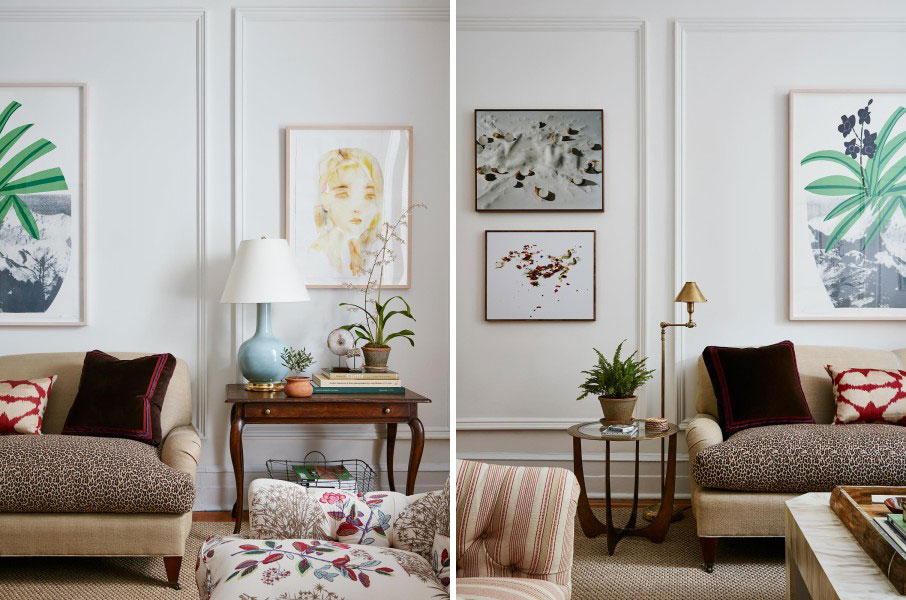 Lauren McGrath, upper east side apartment, McGrath II, mixed patterns