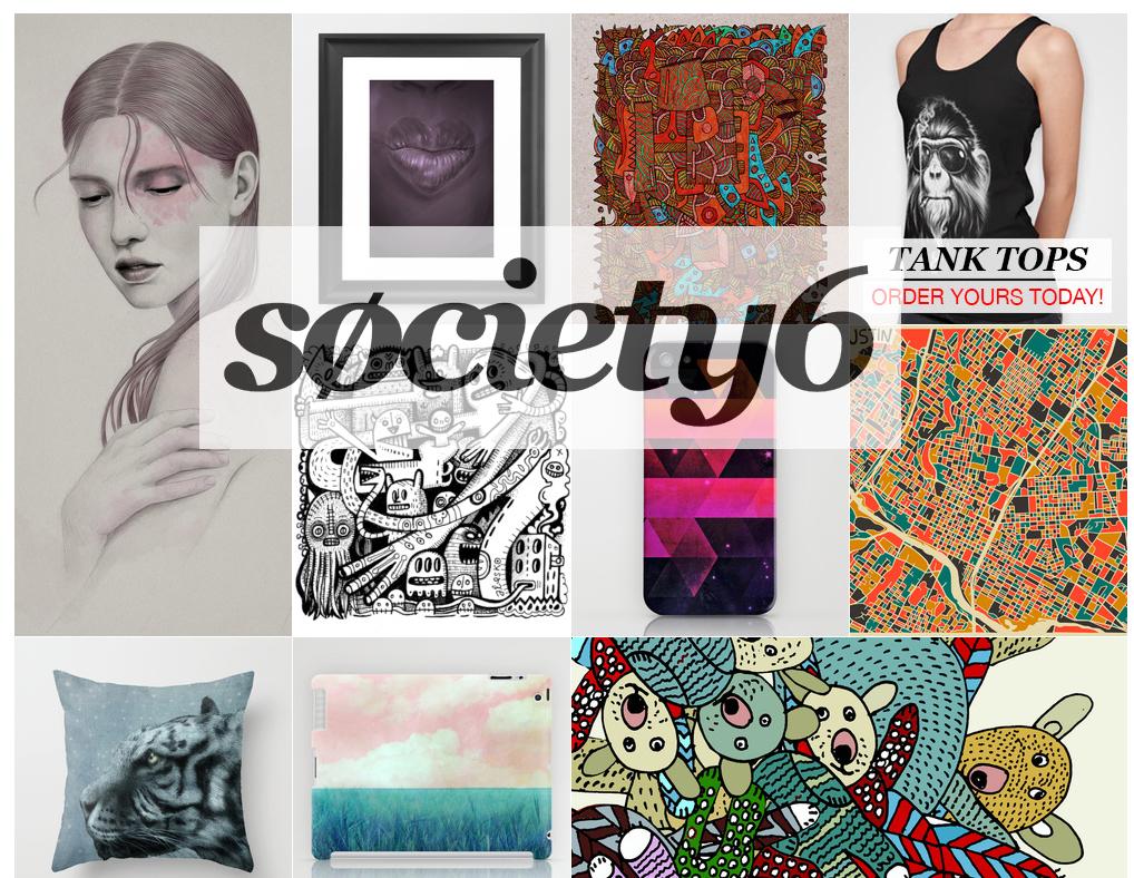 society6, affordable art