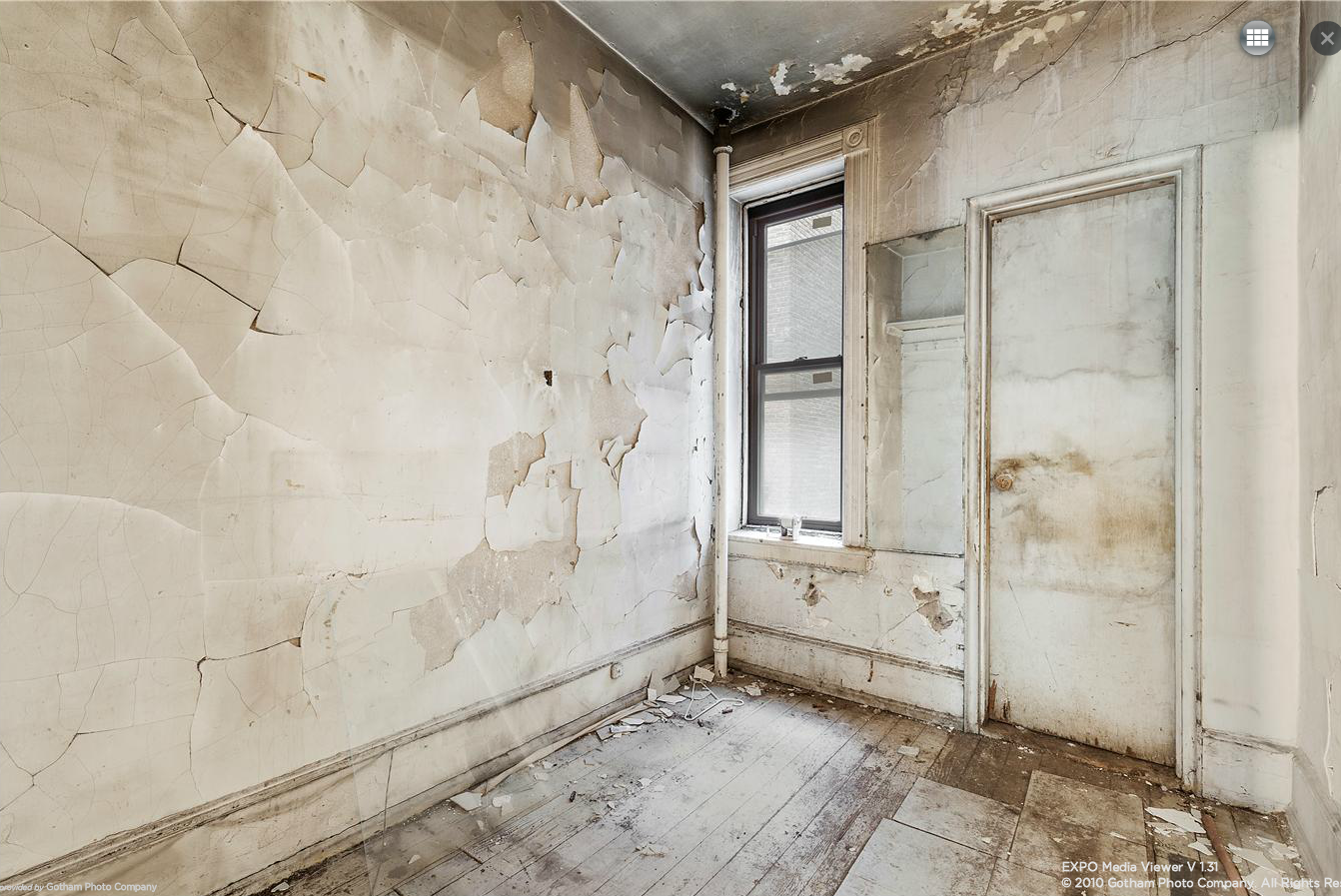 138 West 10th Street, Greenwich Village, Cool Listings, NYC Apartments For Sale, Greenwich Village co op for sale, Fixer-Upper, Halloween