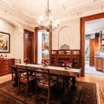 14 cambridge place, dining room, clinton hill, townhouse