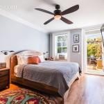 14 Cambridge Place, master bedroom, clinton hill, patio
