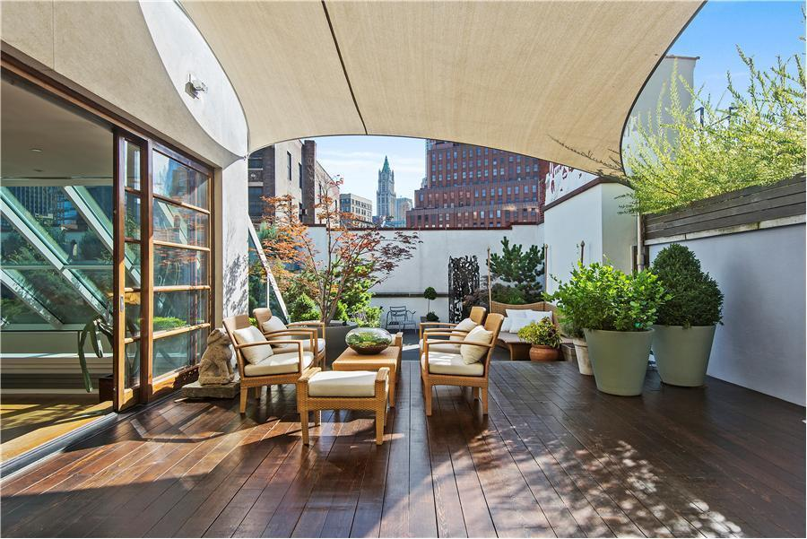 140 Franklin Street, Tribeca Loft Conversion, Lofts, Cool listings, Interiors, Penthouse, Albert Wagner, Tribeca, Historic Buildings, Tribeca loft for sale
