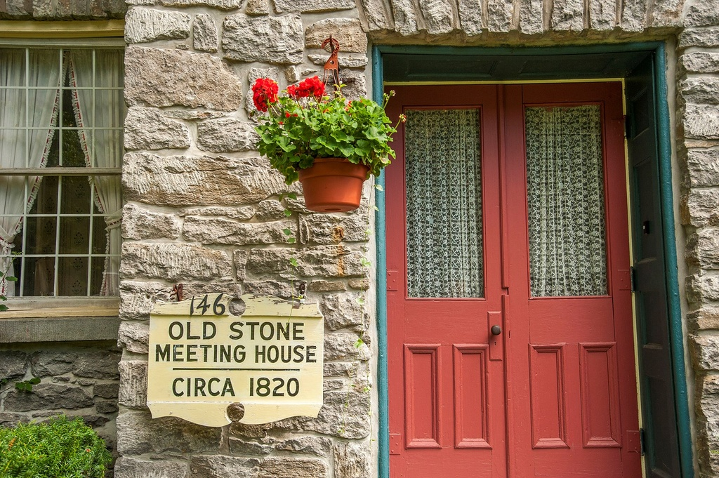 Old Stone Meeting House, Barneveld NUY, 146 Mappa Avenue, upstate stone houses,