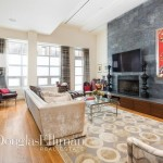 157 East 84th Street, legacy, condo, living room, fireplace